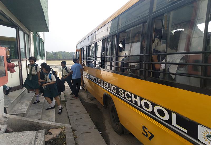 Transport Jyotirmoy Public School